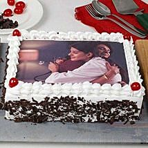 Black Forest Photo Cake for Mom: Send Photo Cakes
