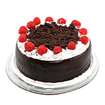 Black Forest with Cherry: New Year Cakes Chennai