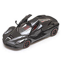 Black Rechargeable Toy Ferrari: Gifts for Son