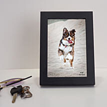 Black Rectangular Wooden Photo Frame: Personalised Photo Frames