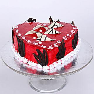 Blossoming Love Cake: Designer Cakes Ghaziabad