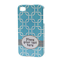 Blue Personalized iPhone Case: Mobile Accessories