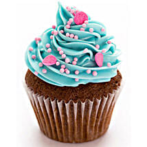 Blue Pink Fantasy Cupcakes: Send New Year Cakes to Kanpur