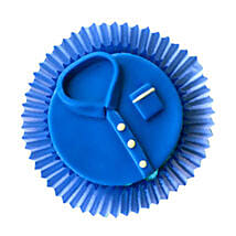 Blue tshirt Cupcakes: Send Cup Cakes to Noida