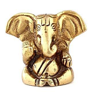 Brass Ganesha Statue: Bhai Dooj Gifts Kolkata