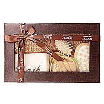 Brown Body Spa Kit: Send Cosmetics & Spa Hampers for Birthday