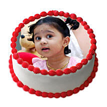 Butterscotch Delight Photo Cake: Photo Cakes to Pune