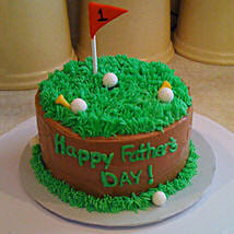 Cake For Golfer Dad: Fathers Day Cakes
