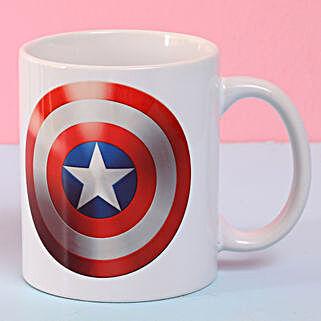 Captain America Ceramic Mug: Buy Coffee Mugs