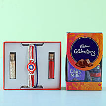 Captain America Rakhi Celebrations Box: Send Rakhi to Gauribidanur