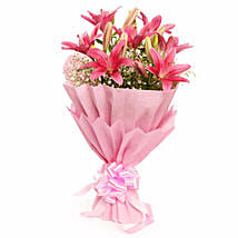 Captivating Asiatic Lilies: Send Thank You Gifts for Boss