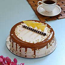 Caramel Cream Cake: Birthday Cakes