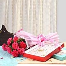 Carnation Beauty: Send Flowers & Sweets to Indore