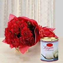 Carnation Glee: Send Flowers & Sweets to Indore