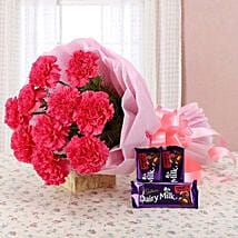 Carnation Temptation: Send Flowers & Chocolates for Propose Day