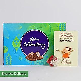 Celebrate Rakhi With Fun N Joy: Rakhi - Same Day Delivery
