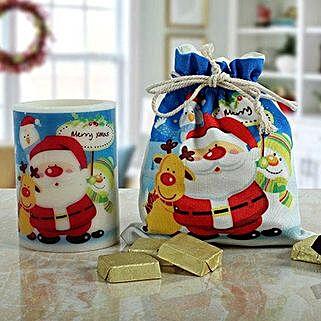 Charming Christmas Gift Set: Christmas Chocolates