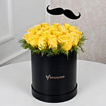 Cheerful Yellow Roses For Him: Birthday Gifts for Him