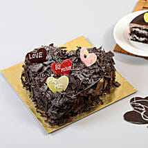 Choco Blast Love Cake: Valentine Romantic Gifts