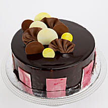 Choco Coin Truffle Cake: Cakes Welcome New Born