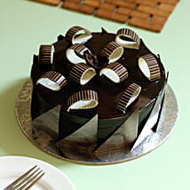 Chocolate Galore Cake: New Year Cakes to Kanpur