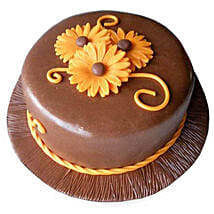 Chocolate Orange Cake: Send New Year Cakes to Kanpur