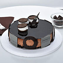 Chocolate Oreo Mousse Cake: Cake Delivery in Edappal
