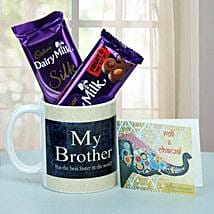 Chocolate Treat For Brother: Send Bhai Dooj Gifts to Srinagar