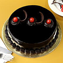 Chocolate Truffle Cream Cake: Mothers Day Cakes Delhi