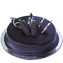 Chocolate Truffle Royale Cake: New Year Cakes to Kanpur