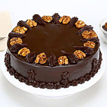 Chocolate Walnut Cake: Cakes Delivery in Gandhinagar