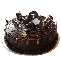 Chocolatey Drops of Pride Cake: Cake Delivery in Edappal