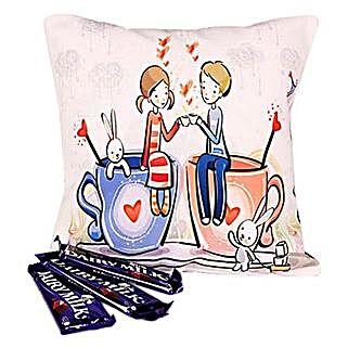 Chocolaty Couple: Romantic Chocolates