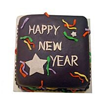 Chocolaty New Year Cake: Send Gifts to Mango