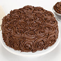 Chocolaty Rose Cake: Cakes to Bhatpara