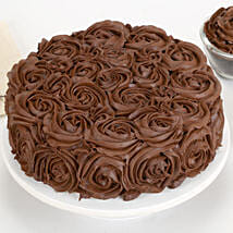 Chocolaty Rose Cake: cakes to East Sikkim