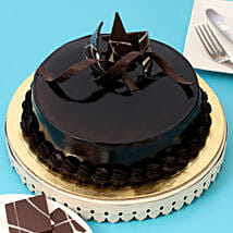 Chocolaty Truffle Cake: Send Gifts to Jhalda