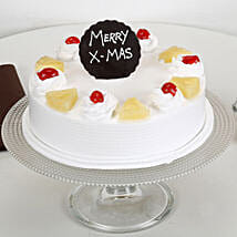 Christmas Pineapple Cake: Christmas Cake