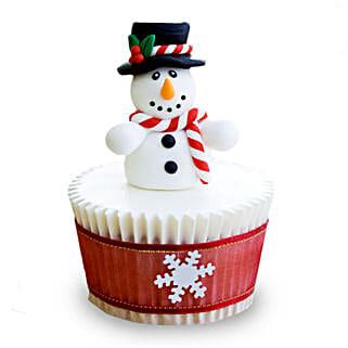 Christmas Snowman Cupcakes: Cup Cakes to Bengaluru