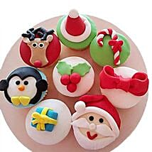 Christmas Special Cupcakes: Cup Cakes to Chennai