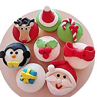 Christmas Special Cupcakes: Christmas Giftsto Bengaluru