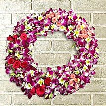 Circle of Life Wreath: Send Orchids
