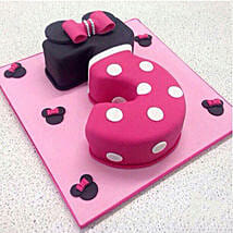 Classic Minnie Cake: Birthday Cakes for Kids