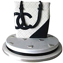 Classy Chanel Bag Cake: Cakes for Sister