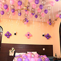 Colorful Balloons Decor: Anniversary Decoration Services