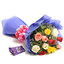 Colour Blast: Send Flowers & Chocolates for Wedding