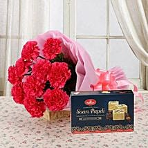 Combo from Heart: Send Flowers & Sweets to Indore