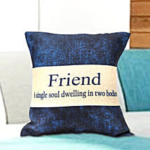 Comfy cushion for friend: Gifts for Friend