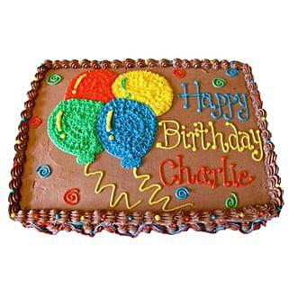 Creamy Balloons Cake: Cakes to Tirur