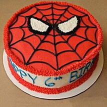 Creamy Spiderman Treat Cake: Send Designer Cakes to Jaipur